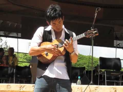 Ukulele Tutorial - 'While My Guitar Gently Weeps' - Jake Shimabukuro ...