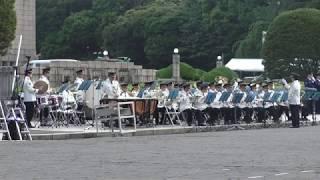 行進曲「希望のあしおと」(警視庁音楽隊)平成30年警視庁機動隊観閲式