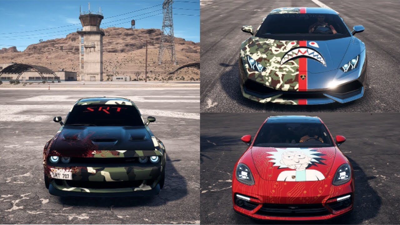 Need For Speed Payback Wraps Offline Need4speed Fans