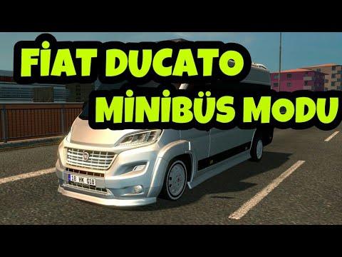euro truck simulator 2 fiat ducato minib s modu youtube. Black Bedroom Furniture Sets. Home Design Ideas