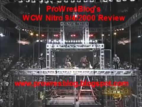 Download WCW Monday Nitro 9/4/2000 Review - Wargames 2000