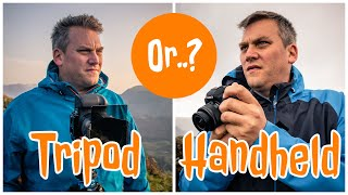 Tripod or Handheld - Which is better for LANDSCAPE photography?