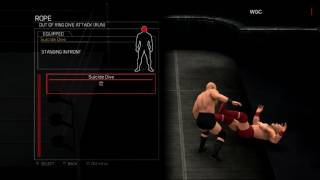 WWE 2K17:Roderick Strong moveset(Xbox 360/PS3)