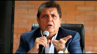Alan García acudirá a Comisión Lava Jato este 11 de diciembre