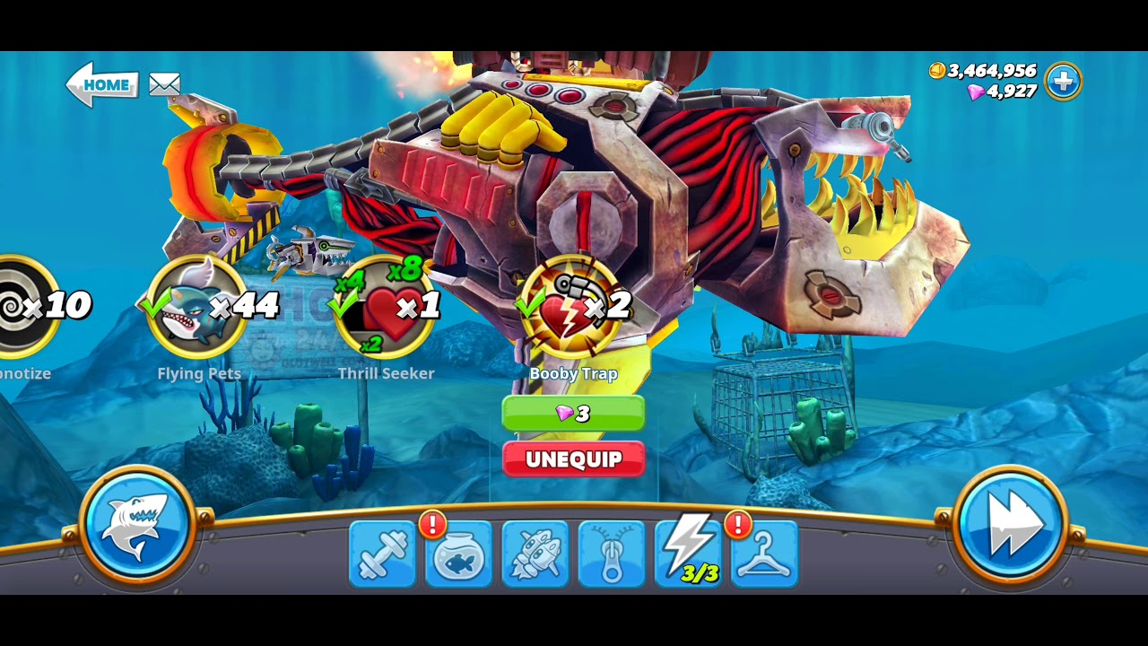 hungry shark world hack unlimited coins and gems