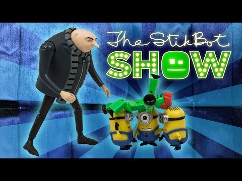 The Stikbot Show 🎬 | The one with Gru and the Minions