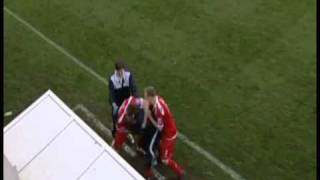 Tamworth FC on TV - 2010-11 FAC 1RP - 2 Crewe H ITV FA Cup Review.wmv