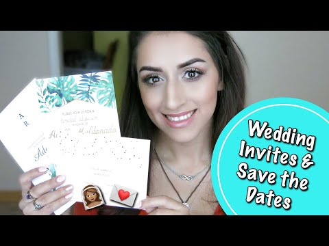 WEDDING SERIES |  WEDDING INVITATIONS, SAVE THE DATES, AND BRIDAL SHOWER INVITES