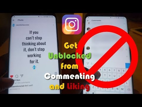 Get Unblocked from commenting and liking posts on Instagram-6 solutions