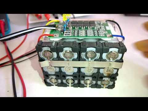 12V BMS Balanced voltage and protection voltage adjustment