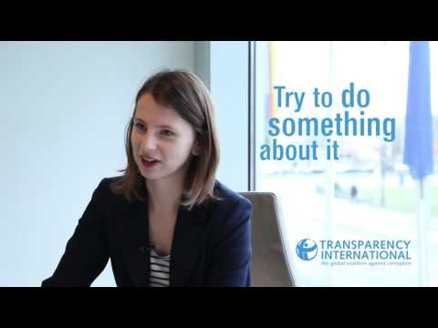 Interview with Zuzana Hlávková, Slovak whistleblower | Transparency International
