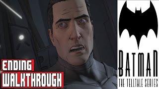 Batman The Telltale Series Episode 1 Gameplay Walkthrough Part 4 No Commentary