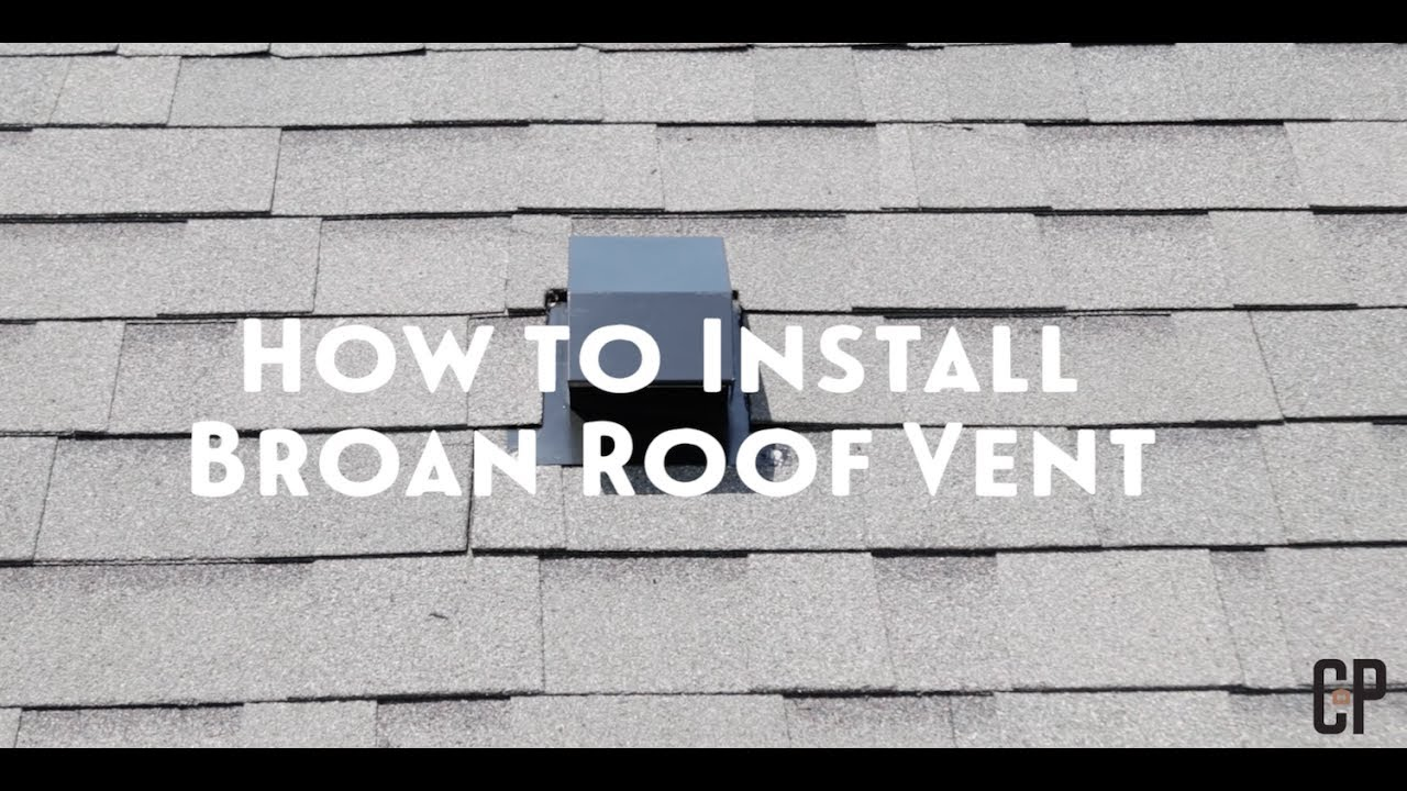 How To Install Roof Vents // Carlson Projects