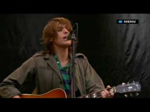 Paolo Nutini Performs Rewind Live At Glastonbury 2007