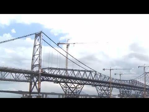 Ponte Hercílio Luz pode ser a saída para desafogar o trânsito em Florianópolis