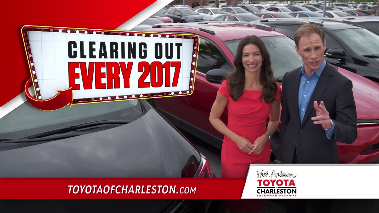 Fred Anderson Toyota Of Charleston   National Clearance Event