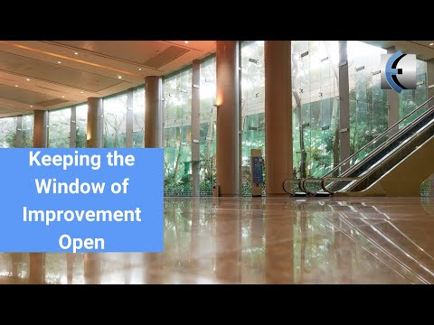 Keeping the Window of Improvement Open - Patient Education and Pain Science