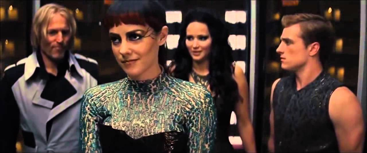 The Hunger Games : Catching Fire - Elevator scene - YouTube
