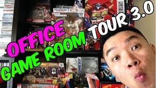 Office/Game Room Tour 3.0 [Unboxed Stuff]