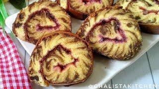 BOLU GULUNG IRIT BAHAN - LEMBUT KEBANGETAN | HURRICANE SWISS ROLL  | Roll Cake Recipe