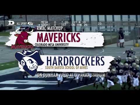 Hardrocker Football Highlights Vs. Colorado Mesa (9/7/2019)