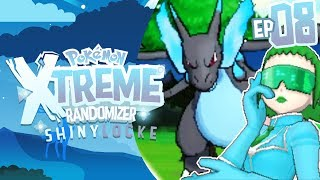 MEGA CHARIZARD AND TEAM BLUE FLARE! Pokemon XTREME Randomizer ShinyLocke! Episode 08