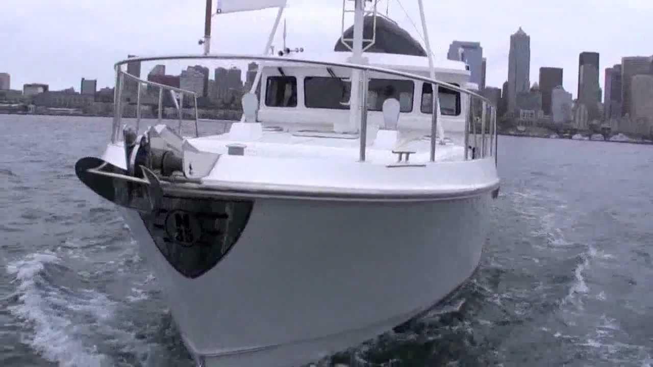 Nordhavn 35 Pocket Trawler Yacht