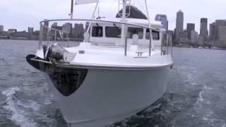 Nordhavn 35' pocket trawler yacht.