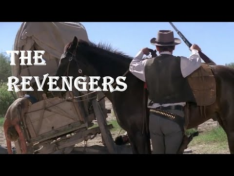 The Revengers  | Full Western Movie | 1972 | William Holden | Ernest Borgnine | Woody Strode
