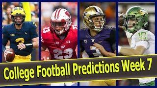 College Football Predictions Week 7