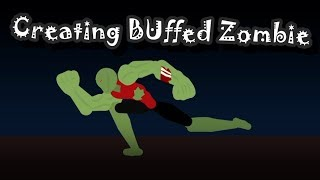 Creating Buffed Zombie | Speedart | StickNodes