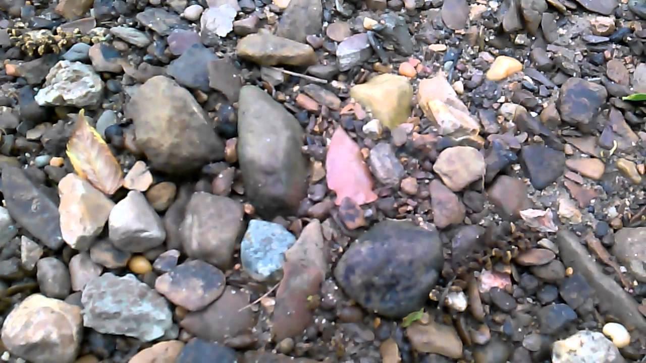 how to find arrowheads in creeks