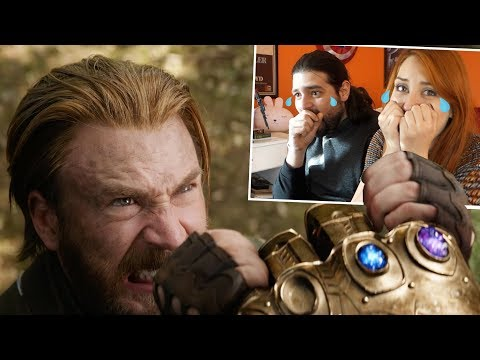 AVENGERS INFINITY TRAILER 2 MADE US CRY ALREADY! Reaction