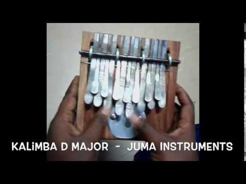 Kalimba D major Juma Instruments Kalimbashop