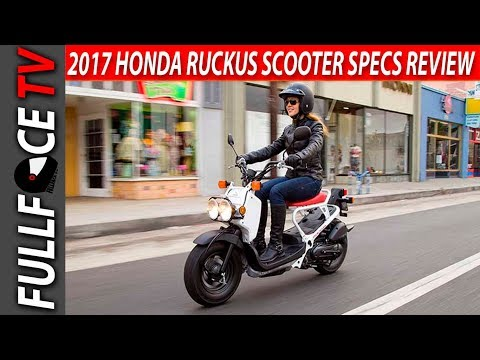 2017 Honda Ruckus Scooter Review and Price