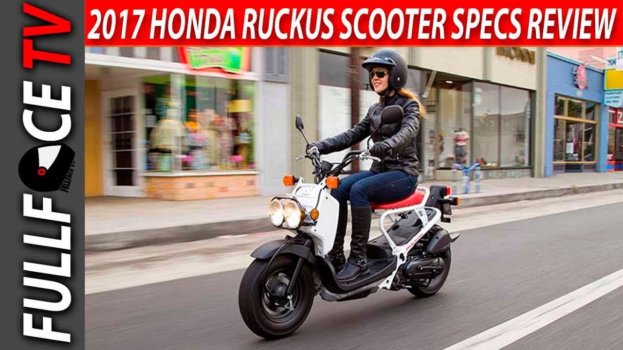 2017 Honda Ruckus Scooter Review And Price Youtube