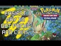 Get Packs and Coins FREE! - Pokémon TCG Online - Getting Started