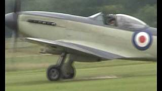 Supermarine Seafire at Old Warden D-Day airshow 2010.