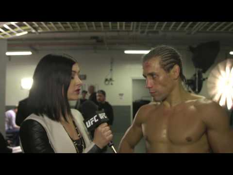 Fight Night Sacramento: Urijah Faber Backstage Interview