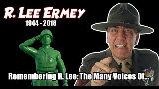 R. Lee Ermey R.I.P. TRIBUTE - In Memoriam (The Many Voices / Characters of...)