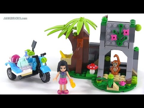 LEGO Friends 41032 First Aid Jungle Bike review!