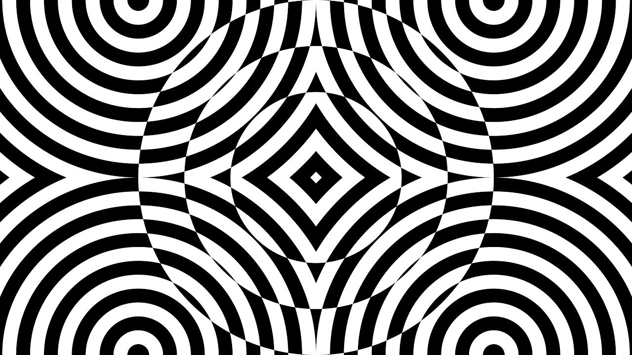 Design Patterns Geometric Black And White Corel Draw Tutorials 001