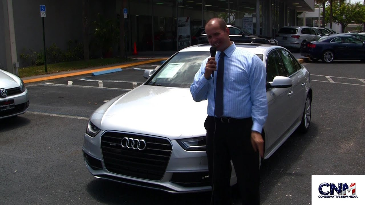 Audi Lighthouse Point >> 2014 Audi A4 with Quattro and S Line Package (Silver) CPO ...