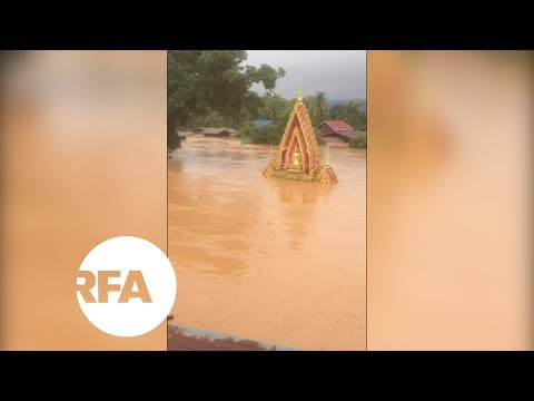 Dam Collapse Brings Deadly Flooding in Laos | Radio Free Asia (RFA)