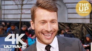 Glen Powell interview at The Guernsey Literary and Potato Peel Pie Society premiere