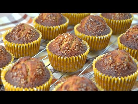 Whole Wheat Oat Bran Muffins - Quick & Easy Breakfast Muffin Recipe