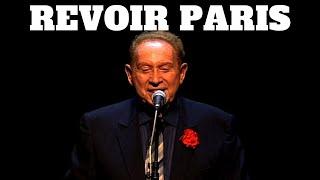 CHARLES TRENET - Revoir Paris