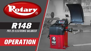 Rotary R148 Wheel Balancer Training