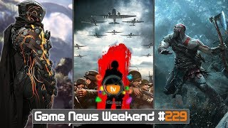 Игровые Новости — Game News Weekend #229 | (Anthem, Battalion 1944, God of War 4, Prince of Persia)