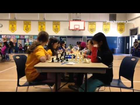 Time lapse: Mark Day School hosts 10th Annual CalChess Girls State Chess Championship. #chess #Hyper